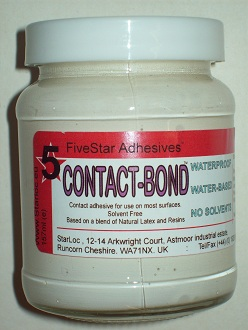 Contact Bond, latex contact glue solvent free adhesive for craft paper  envelope rubber foam adhesive